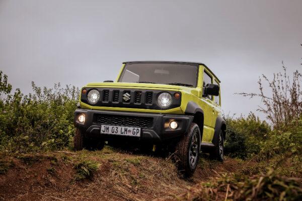 Off-road with the Suzuki Jimny