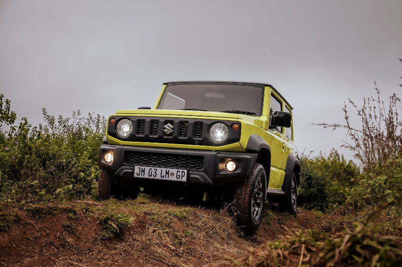 You are currently viewing Off-road with the Suzuki Jimny